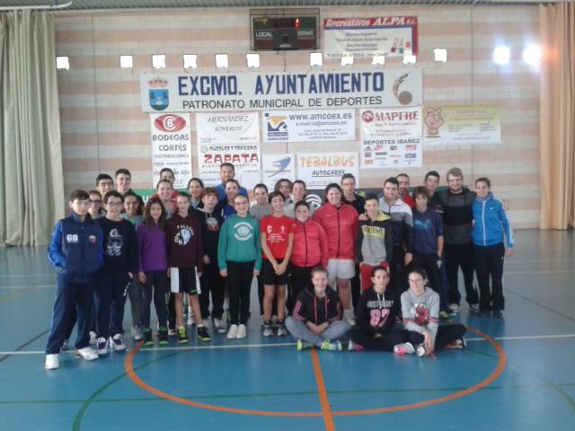 La localidad acoge las II Jornadas de Tecnificación de Baloncesto
