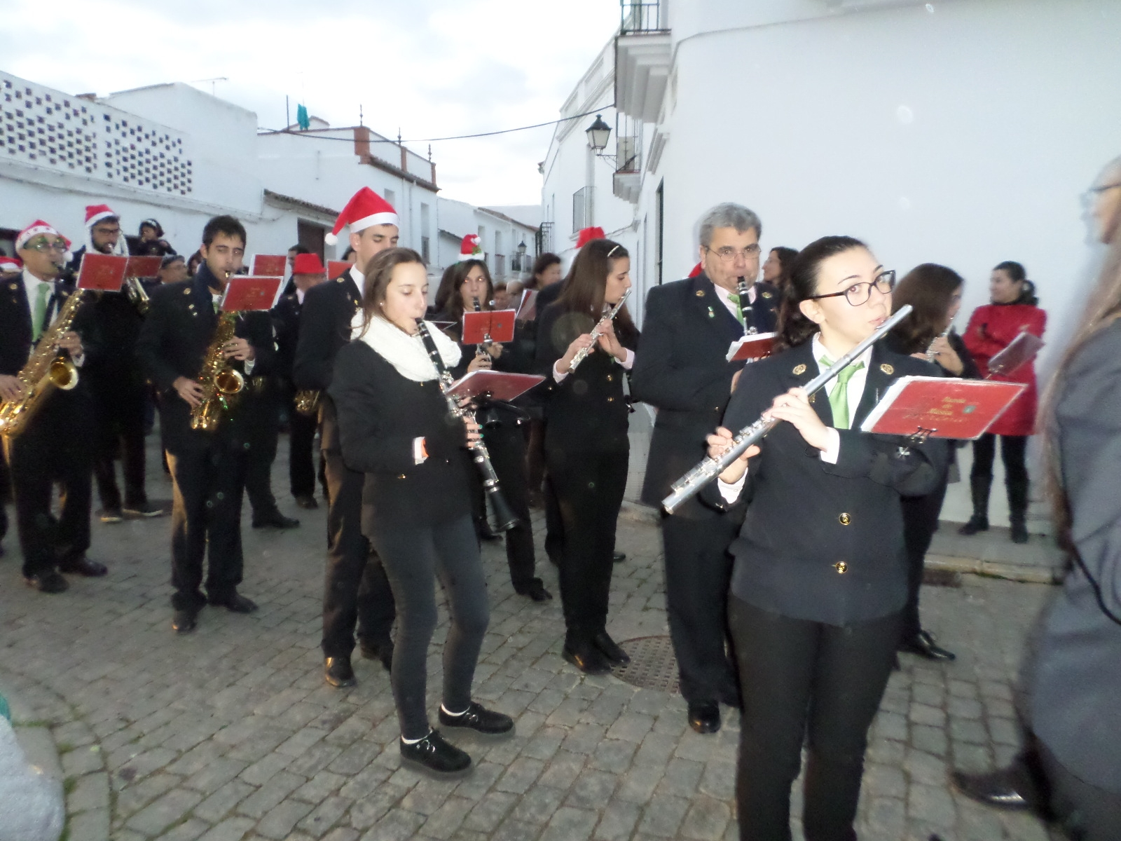 Pasacalle solidario de la Banda Municipal de Música